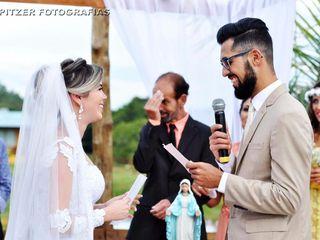 O casamento de Tatiane Bitencourt e Wellingthon Siqueira
