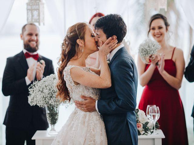 O casamento de Gabi e Cadu