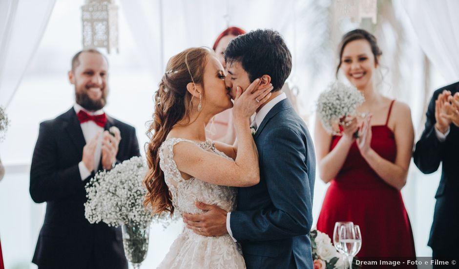 O casamento de Cadu e Gabi em Florianópolis, Santa Catarina