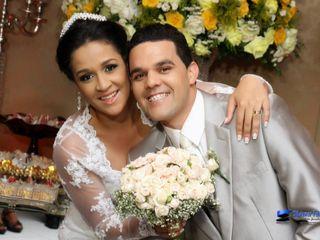 O casamento de Hevely e Jonathan