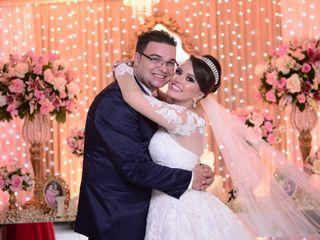 O casamento de Camila e Cassimiro