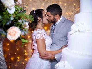 O casamento de Rayelli e Renato