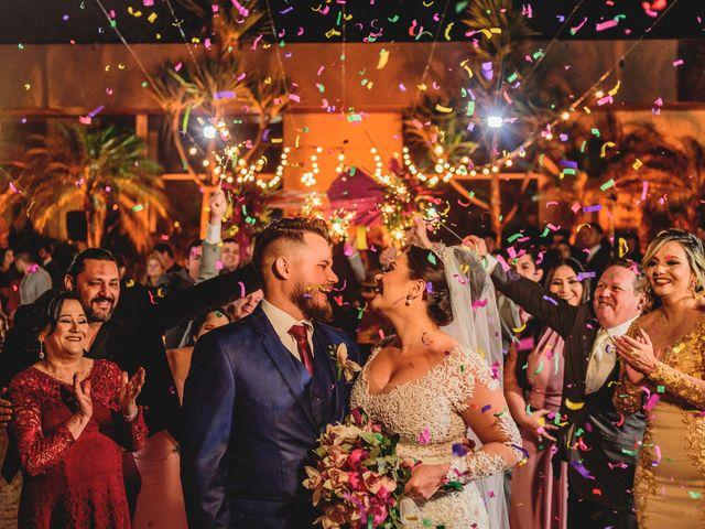 O casamento de Viviane e Milton