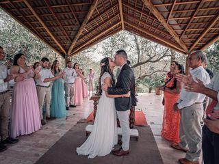 O casamento de Miriã e Éliton