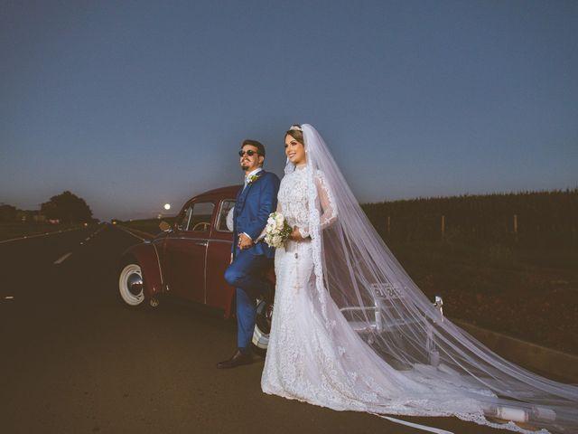 O casamento de Alyne e Vinicius