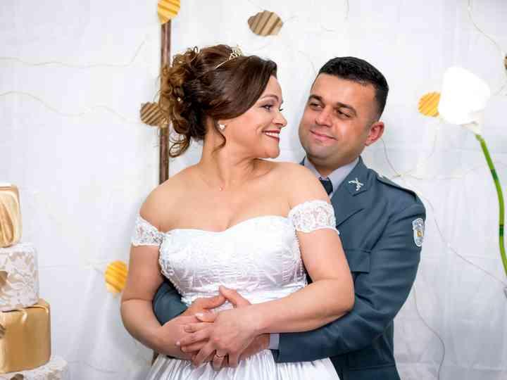 O casamento de Jilberto e Janaina