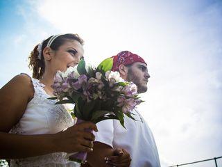 O casamento de Tessie e Rafael