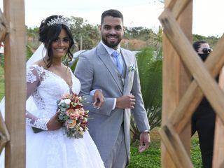 O casamento de Flávia Carine e Bruno Rafael 3
