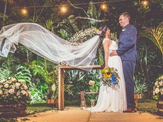 O casamento de Roberta e Gabriel