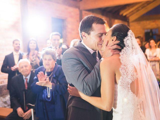 O casamento de Lívia e Brad