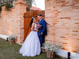 O casamento de Alane e Rafael