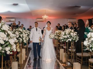 O casamento de Bárbara e Arthur