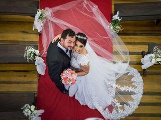O casamento de Joice e João