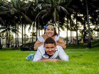O casamento de Angeline e Jeferson