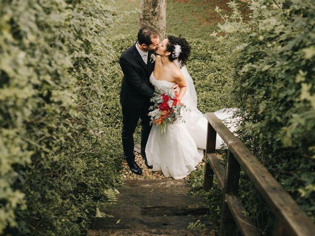 O casamento de Aline e Gabriele