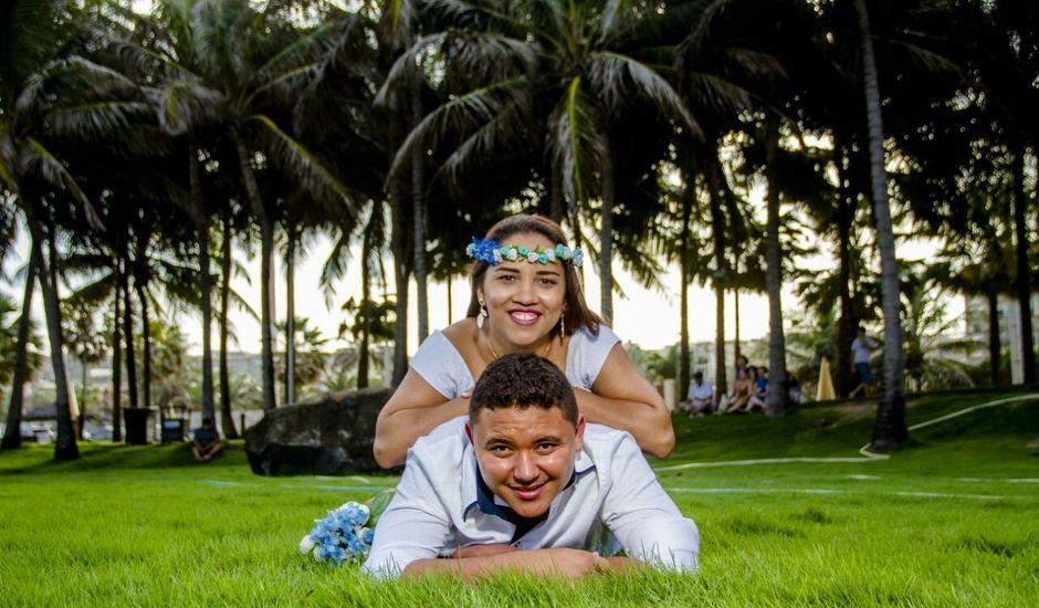 O casamento de Jeferson e Angeline em Maracanaú, Ceará