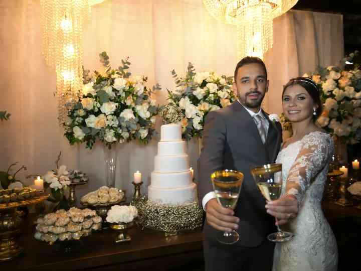 O casamento de Melina e Gabriel