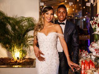 O casamento de Karine e Wilson