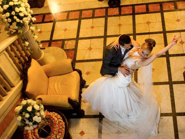 O casamento de Joyce e José