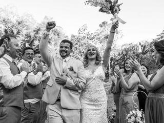 O casamento de Roberta e Rodrigo