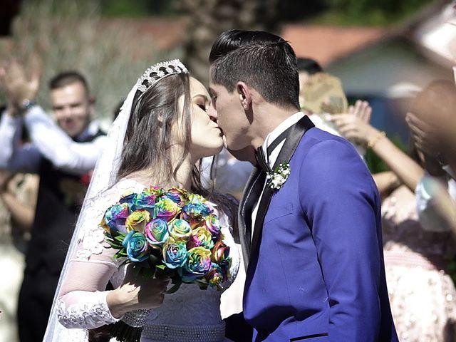 O casamento de Alessandra e Douglas
