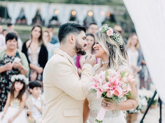 O casamento de Tamella e Fernando