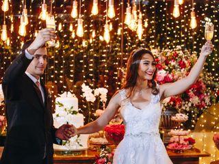 O casamento de Alessandra e Daniel