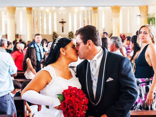 O casamento de Dirlene e Wolksmar
