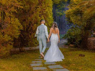 O casamento de Ester e Rafael