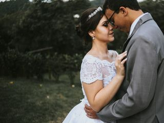 O casamento de Camila e Pedro