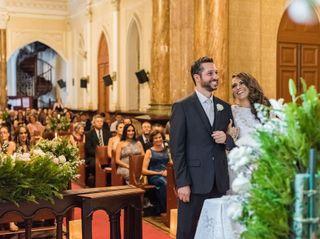 O casamento de Flávia e Alexandre