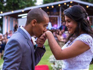 O casamento de Alâne e Roberval Junior