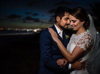 O casamento de Nicolle e Pedro