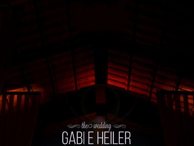O casamento de Gabriela e Heiler