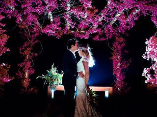 O casamento de Vivi e Rogério