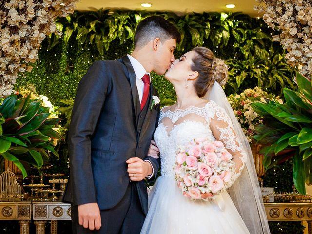 O casamento de Aline e Gustavo