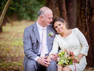 O casamento de Cris e Alan