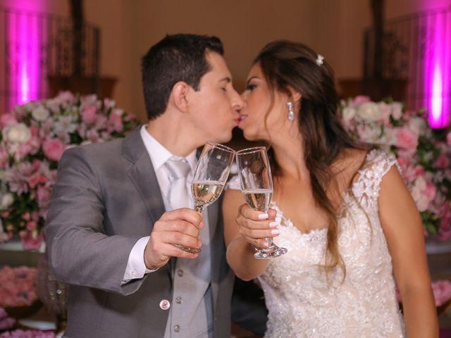 O casamento de Andrea e Alex