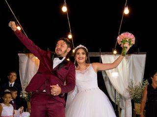 O casamento de Eliane e Kayron