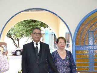 O casamento de Cláudio de Sá e Claudinéia Costa de Sá 1