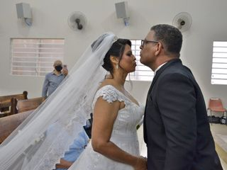 O casamento de Cláudio de Sá e Claudinéia Costa de Sá