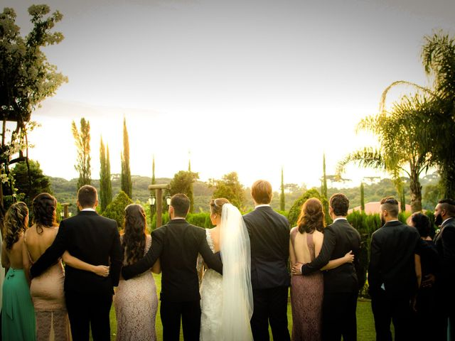 O casamento de Aline e Timo