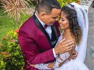 O casamento de Raquel e Gabriel