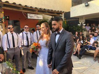 O casamento de Bruna e Ivan