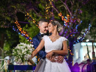 O casamento de Leila e Leonardo