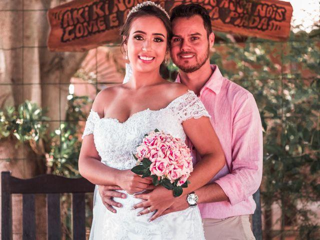 O casamento de Daisy e Adriano