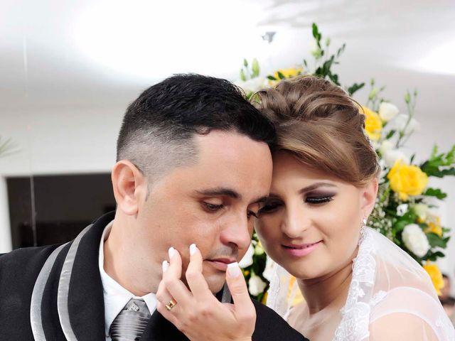 O casamento de Paula e Wallace