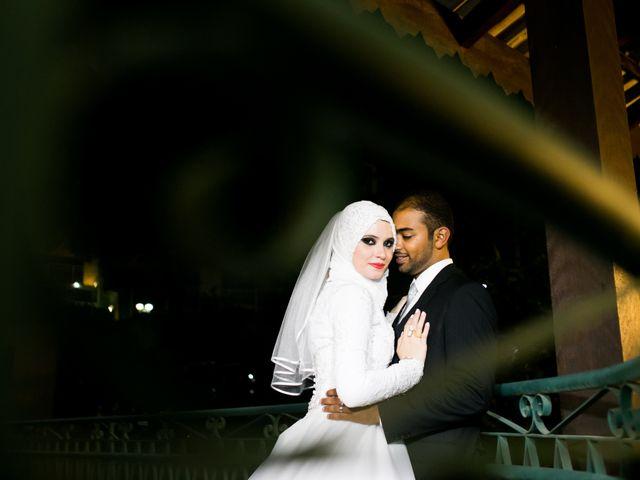 O casamento de Nour e Sabry