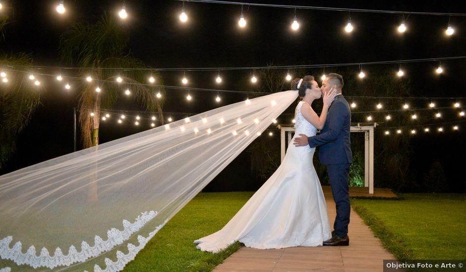 O casamento de Emerson e Francislaine em São José dos Pinhais, Paraná