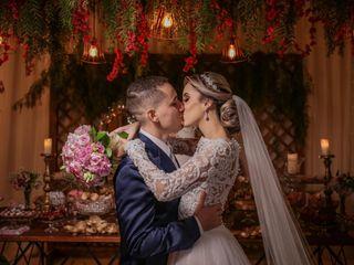 O casamento de Letícia e Wilker